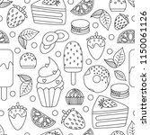 coloring book hand drawn...   Shutterstock .eps vector #1150061126