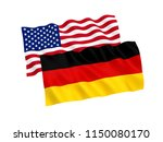 national fabric flags of... | Shutterstock . vector #1150080170