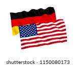 national fabric flags of... | Shutterstock . vector #1150080173