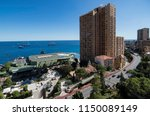 view of the coast of the... | Shutterstock . vector #1150089149
