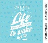 inspirational quote  motivation.... | Shutterstock .eps vector #1150092209