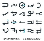 set of 20 simple editable icons ... | Shutterstock .eps vector #1150098209