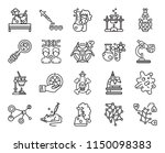 set of 20 icons such as... | Shutterstock .eps vector #1150098383