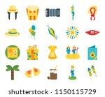 set of 20 icons such as rocket  ...