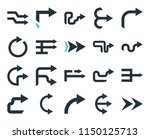 set of 20 simple editable icons ... | Shutterstock .eps vector #1150125713