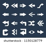 set of 20 simple editable icons ... | Shutterstock .eps vector #1150128779
