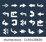 set of 20 simple editable icons ... | Shutterstock .eps vector #1150128830