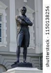 singapore   feb 9  2018. statue ... | Shutterstock . vector #1150138256