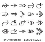 set of 20 simple editable icons ... | Shutterstock .eps vector #1150141223