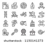 set of 20 icons such as petri...
