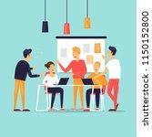 teamwork  startup  support ... | Shutterstock .eps vector #1150152800