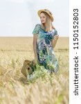 beautiful young model in the... | Shutterstock . vector #1150152803
