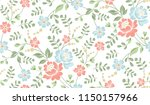 seamless luxury pattern with... | Shutterstock .eps vector #1150157966