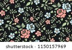 seamless luxury pattern with... | Shutterstock .eps vector #1150157969