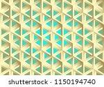 impossible figures isometric 3d ... | Shutterstock .eps vector #1150194740