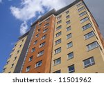new hotel block. | Shutterstock . vector #11501962