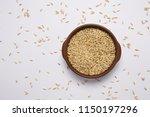 macro view of natural organic... | Shutterstock . vector #1150197296