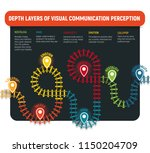 railway  infographic design.... | Shutterstock .eps vector #1150204709