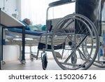 old asian senior disable... | Shutterstock . vector #1150206716