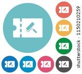 paint shop discount coupon flat ... | Shutterstock .eps vector #1150210259