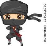 illustration of a kid boy... | Shutterstock .eps vector #1150216730