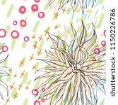 tropical  modern  animal motif. ...   Shutterstock .eps vector #1150226786