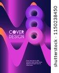 vector minimalistic cover... | Shutterstock .eps vector #1150238450
