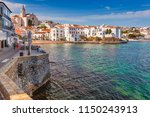 sea landscape with cadaques ... | Shutterstock . vector #1150243913