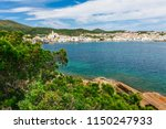 sea landscape with cadaques ...   Shutterstock . vector #1150247933