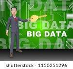 big data tools digital toolbox... | Shutterstock . vector #1150251296