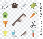 set of 13 simple editable icons ... | Shutterstock .eps vector #1150251539