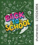 concept of education. school... | Shutterstock .eps vector #1150263806