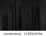 black wet background  ... | Shutterstock . vector #1150265156