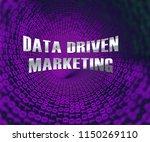 data driven marketing database... | Shutterstock . vector #1150269110