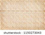 traditional bamboo weaving... | Shutterstock . vector #1150273043