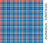 seamless tartan vector pattern | Shutterstock .eps vector #1150276163