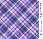 seamless tartan vector pattern | Shutterstock .eps vector #1150276169