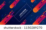 abstract colorful background.... | Shutterstock .eps vector #1150289270