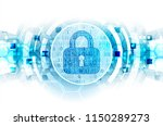 protect mechanism  system... | Shutterstock .eps vector #1150289273