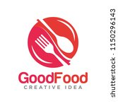 food logo creative template | Shutterstock .eps vector #1150296143
