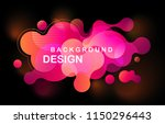abstract colorful geometric... | Shutterstock .eps vector #1150296443