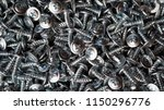 many self tapping screws... | Shutterstock . vector #1150296776