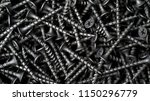 many self tapping screws... | Shutterstock . vector #1150296779
