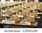 indoor business conference for... | Shutterstock . vector #115031269