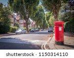 london  august  2018  an... | Shutterstock . vector #1150314110