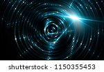 lights neon background with... | Shutterstock . vector #1150355453