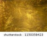 Gold Glitter Liquid Texture...
