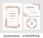 set of gorgeous wedding... | Shutterstock .eps vector #1150359416