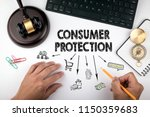 consumer protection  law and... | Shutterstock . vector #1150359683