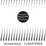vector halftone background | Shutterstock .eps vector #1150379903
